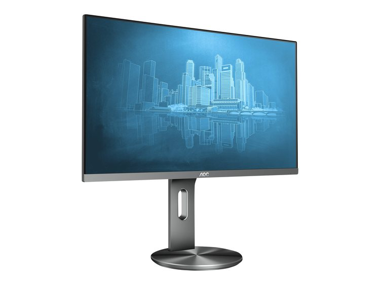 "AOC I2790PQU 27"" 1920 x 1080 VGA (HD-15) HDMI DisplayPort 60Hz"