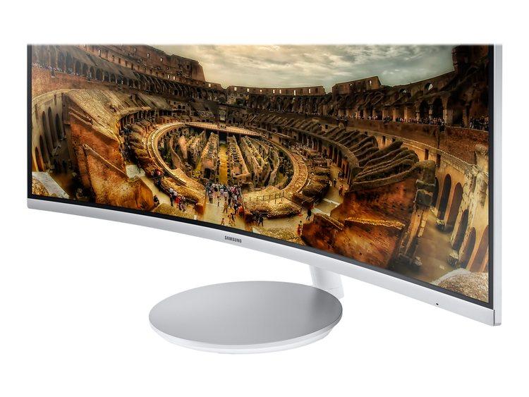 "Samsung CF79 Series C34F791WQU 34"" 3440 x 1440 HDMI DisplayPort 100Hz"