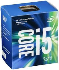 Intel CPU Core I5-7400 3GHz Quad-Core LGA1151