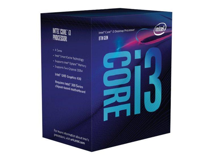 Intel CPU Core I3-8350K 4GHz Quad-Core LGA1151