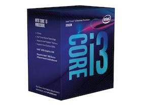 Intel CPU Core I3-8100 3.6GHz Quad-Core LGA1151