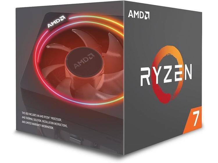 AMD CPU Ryzen 7 2700X 4.35GHz 8 kerner AM4