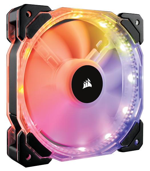 Corsair HD140 RGB LED 140mm Chassifläkt