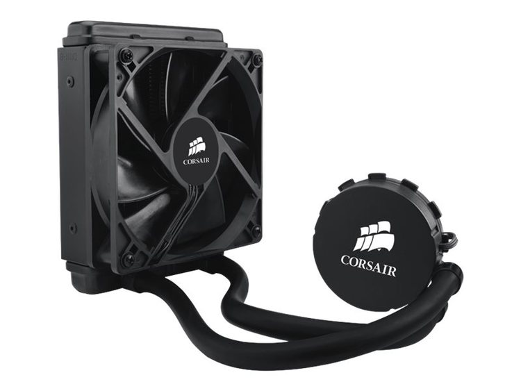 CORSAIR Hydro Series H55 Quiet CPU Cooler Vätskekylning