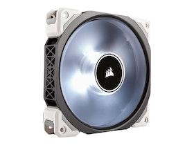 Corsair Premium ML120 Pro PWM 120mm LED Magnetic Levitation - Lådfläkt - 120 mm - vit