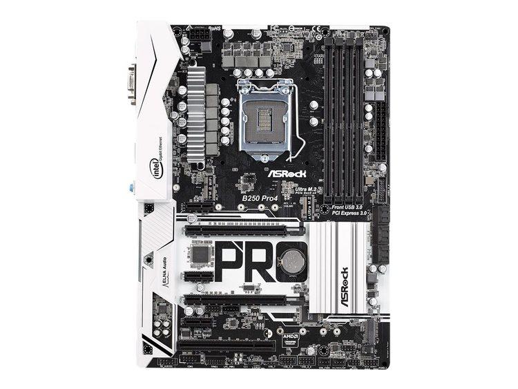 ASRock B250 Pro4 ATX LGA1151 Intel B250 Express