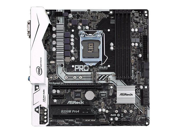 ASRock B250M Pro4 Micro-ATX LGA1151 Intel B250 Express