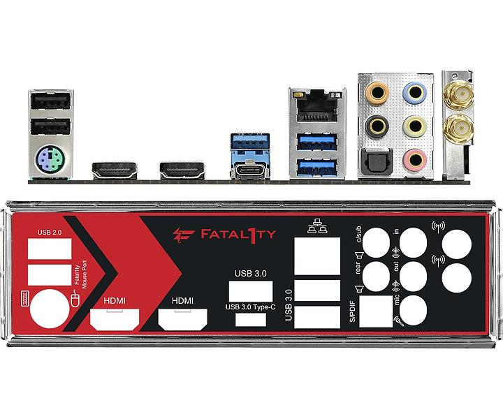ASRock Fatal1ty AB350 Gaming-ITX/ac Mini ITX AM4 AMD B350
