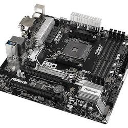 ASRock A320M Pro4 Micro-ATX AM4 AMD A320
