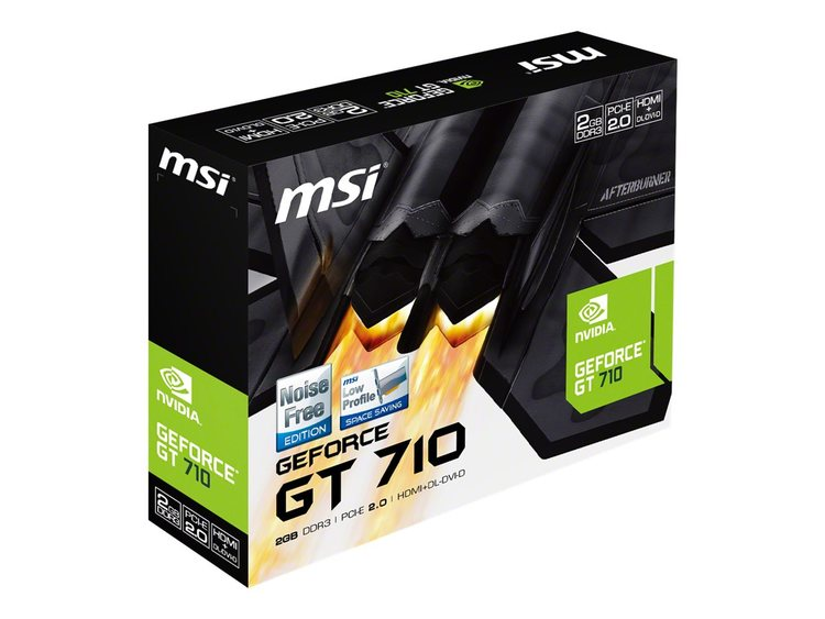 MSI GT 710 2GD3H LP 2GB DDR3