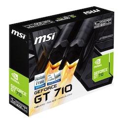 MSI GeForce GT 710 LP Passive HDMI 1GB