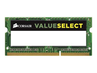 CORSAIR Value Select DDR3L 4GB 1600MHz CL11 SO-DIMM 204-PIN