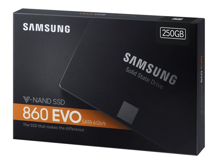 "Samsung SSD 860 Evo 250GB SATA6 2.5"""