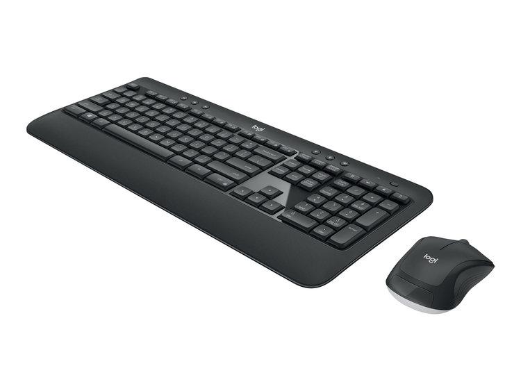 Logitech MK540 Advanced Sats med tangentbord och mus - trådlös