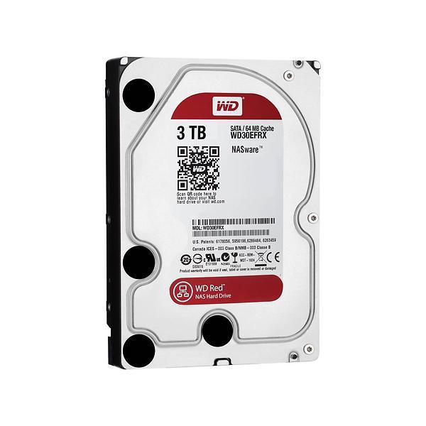 """WD Red NAS Hard Drive Harddisk WD30EFRX 3TB 3.5"""" SATA-600"""