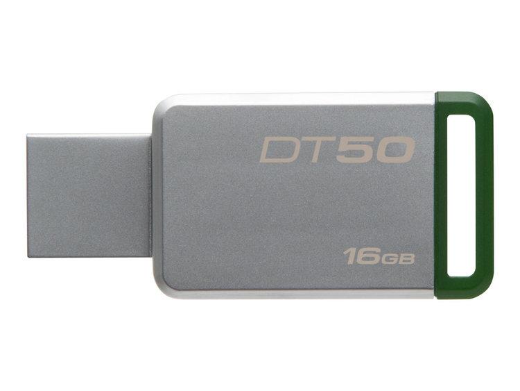 Kingston DataTraveler 50 16GB grön