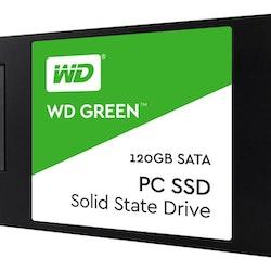 """WD Green SSD SSD WDS120G2G0A 120GB 2.5"""" SATA-600"""