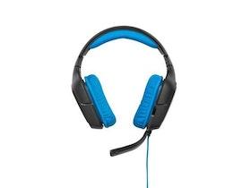Logitech G430 Kabling Blå Svart Headset