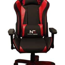 Nordic RL-HX01 Gaming Racer Chair Red Black