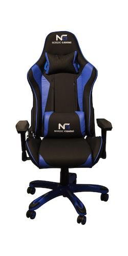 Nordic RL-HX03 Gaming Racer Chair Blue Black