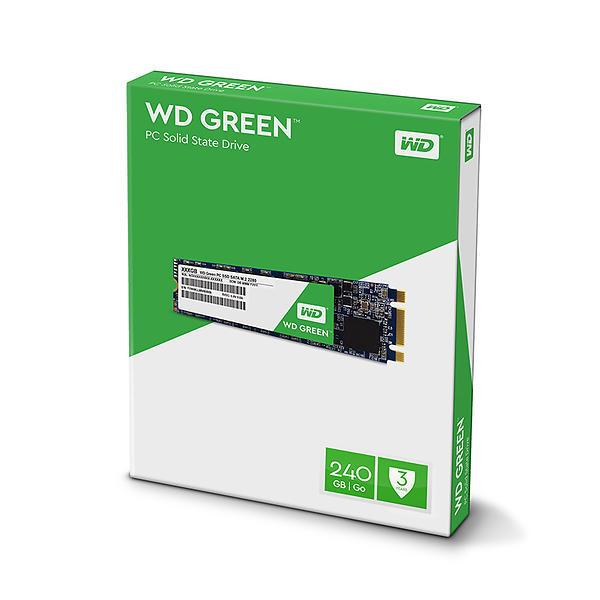 WD Green PC SSD SSD WDS240G2G0B 240GB M.2 SATA-600