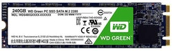 WD Green PC SSD SSD WDS240G2G0B 240GB M.2 SATA-600