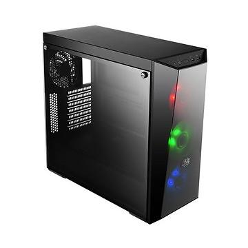 Cooler Master MasterBox Lite 5 RGB Miditower ATX med controller