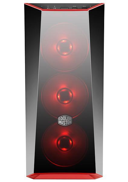 Cooler Master MasterBox Lite 5 RGB - Miditower - ATX - inget nätaggregat - svart - USB/ljud