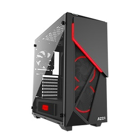 AZZA Inferno 310 Miditower ATX  (Svart/Transparent)