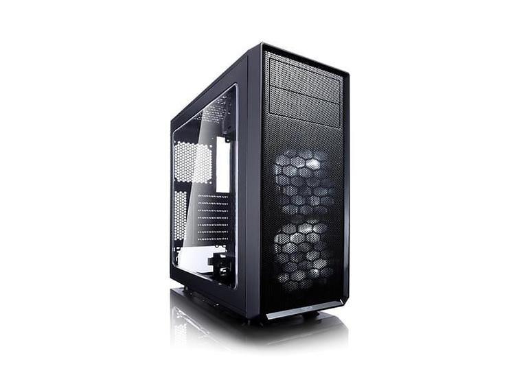 Fractal Design Fokus G Miditower ATX inget nätaggregat Svart