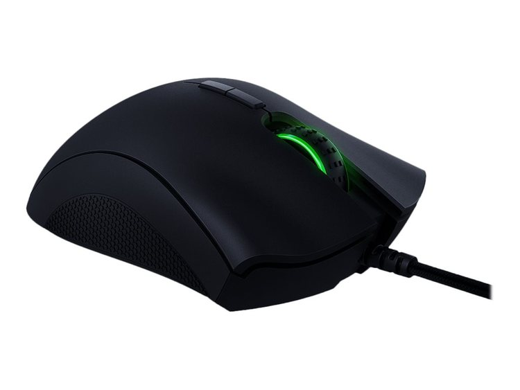 Razer DeathAdder Elite Optisk Kabling Svart
