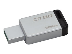 Kingston DataTraveler 50 128GB svart