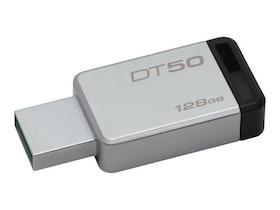 Kingston DataTraveler 50 128GB svart