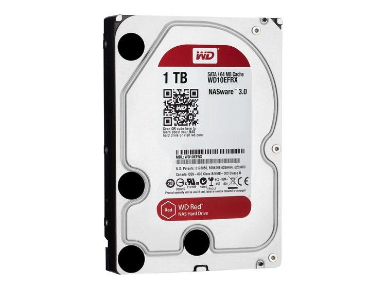 """WD Red NAS Hard Drive Harddisk WD10EFRX 1TB 3.5"""" SATA-600"""