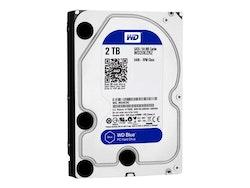 "WD Blue Harddisk WD20EZRZ 2TB 3.5"" SATA-600 5400rpm"