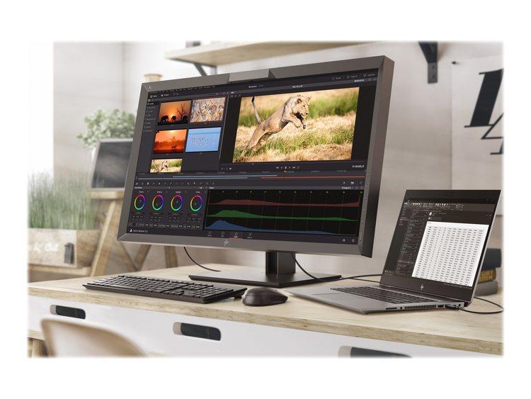 "HP Z24n G2 24"" 1920 x 1200 DVI HDMI DisplayPort USB-C 60Hz Pivot skärm"