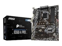 MSI B360-A PRO ATX LGA1151 Intel B360 Express