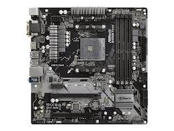 ASRock B450M PRO4 Micro-ATX AM4 AMD B450