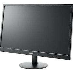 """AOC Value M2470SWDA2 23.6"""" 1920 x 1080 DVI VGA (HD-15) 60Hz"""