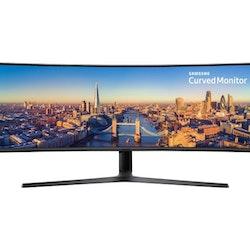 """Samsung CJ89 Series C49J890DKU 49"""" 3840 x 1080 HDMI DisplayPort USB-C 144Hz"""