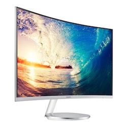 """Samsung CF591 Series C27F591FDU 27"""" 1920 x 1080 VGA (HD-15) HDMI DisplayPort"""