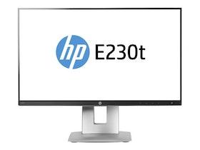 "HP EliteDisplay E230t 23"" 1920 x 1080 DVI VGA (HD-15) HDMI DisplayPort 60Hz Pivot Skärm"