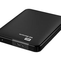 WD Elements Portable Harddisk WDBUZG0010BBK 1TB USB 3.0