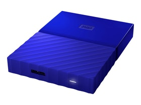 WD My Passport Harddisk WDBYNN0010BBL 1TB USB 3.0