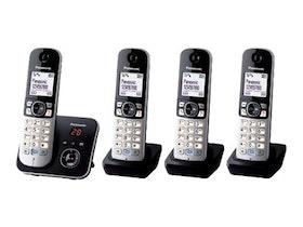 Panasonic KX-TG6824 Svart