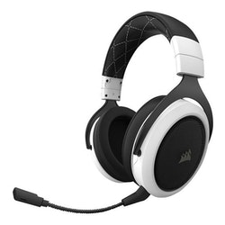 CORSAIR Gaming HS70 - Headset - fullstorlek - 2,4 GHz - trådlös - vit