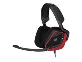 CORSAIR Gaming VOID PRO Surround Kabling röd svart Headset