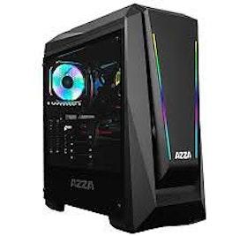 AZZA Chroma 410A - Miditower - ATX - inget nätaggregat - svart - USB/ljud