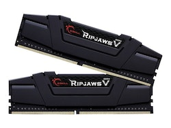 G.Skill Ripjaws V - DDR4 - 32 GB: 2 x 16 GB - DIMM 288-pin - 3200 MHz / PC4-25600 - CL16