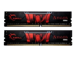 G. Skill AEGIS - DDR4 - 32 GB: 2 x 16 GB - DIMM 288-pin - 3000 MHz / PC4-24000 - CL16
